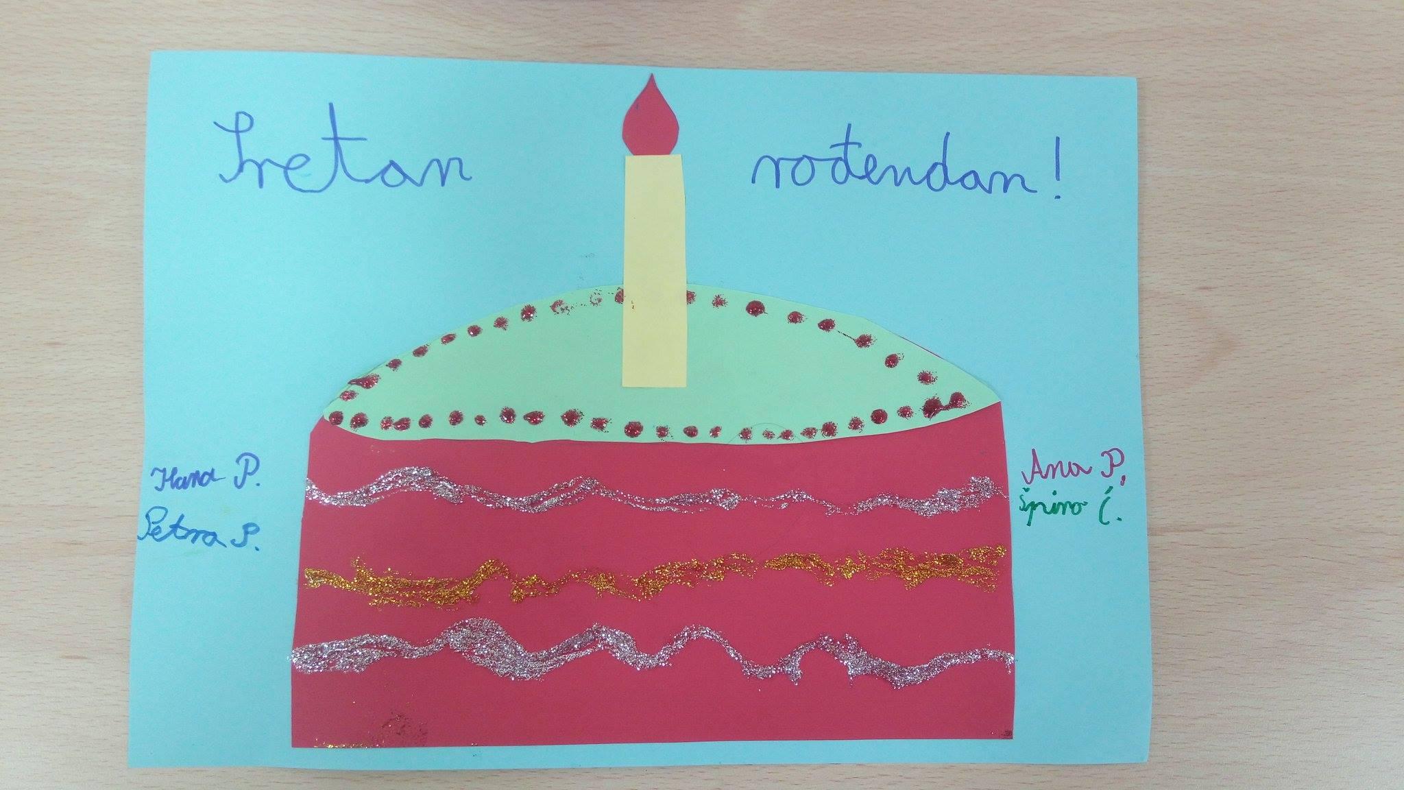sretan rođendan narodna Prvi rođendan Narodne knjižnice – Narodna knjižnica i čitaonica u  sretan rođendan narodna